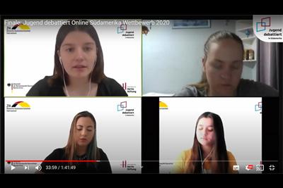 Jugend debattiert Südamerika-Wettbewerb 2020