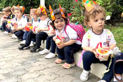 Der Osterhase besuchte unseren Kindergarten